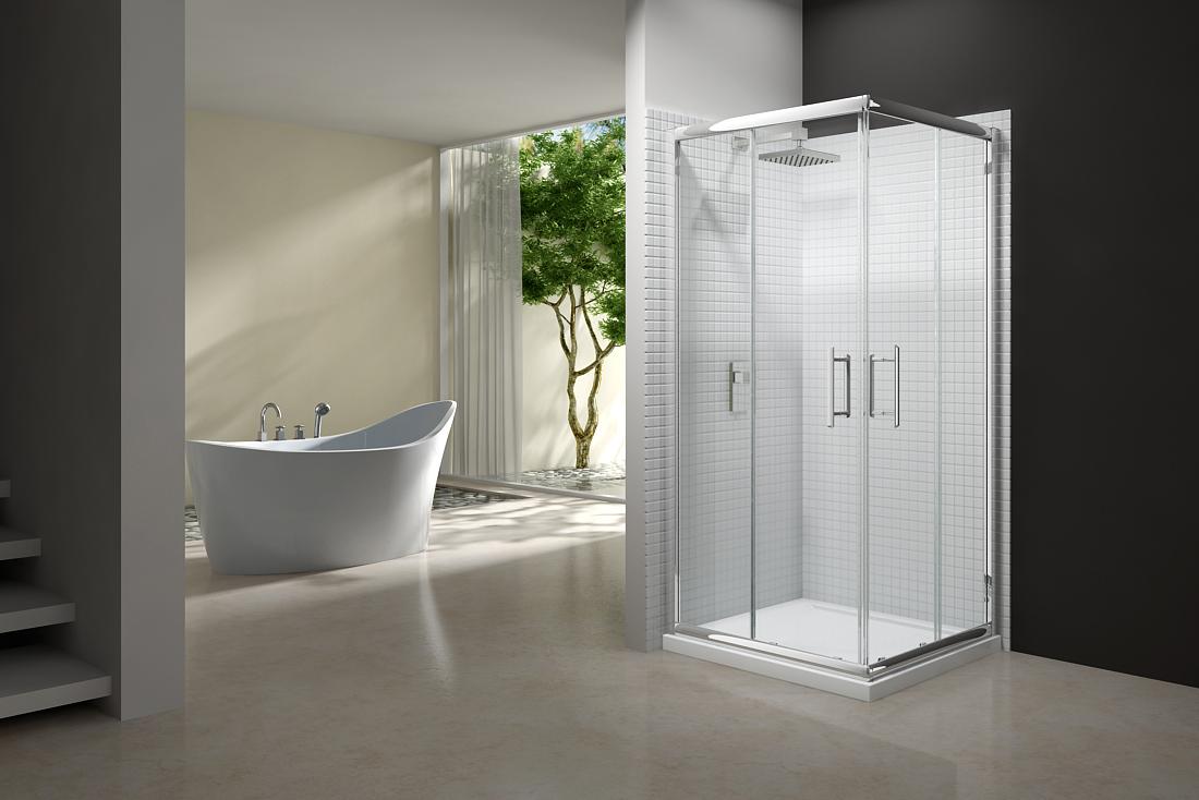 Merlyn Series 6 Corner Door Hv Bathrooms Tiles