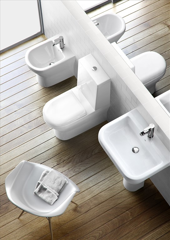 britton curve floor standing back to wall toilet bidet. Black Bedroom Furniture Sets. Home Design Ideas