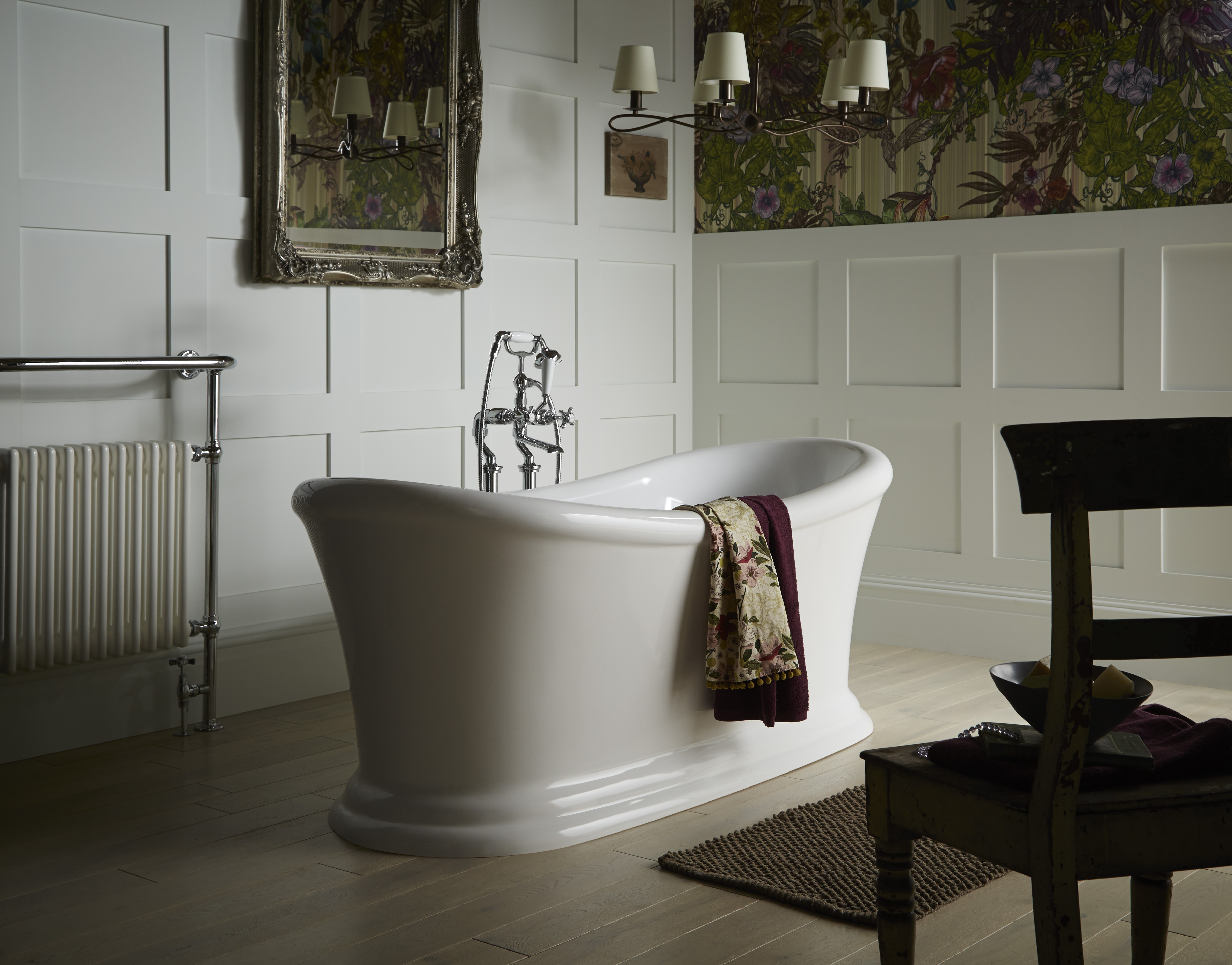 Heritage Orford Double Ended Slipper Roll Top Bath (1700x740mm ...
