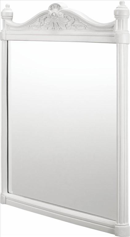 Burlington Georgian Mirror With White Aluminium Frame