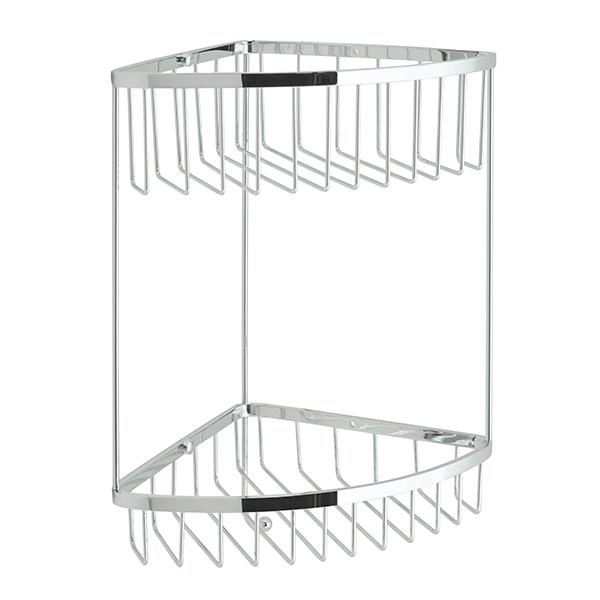 Vado 2004CP 2 Tier Large Corner Shower Basket
